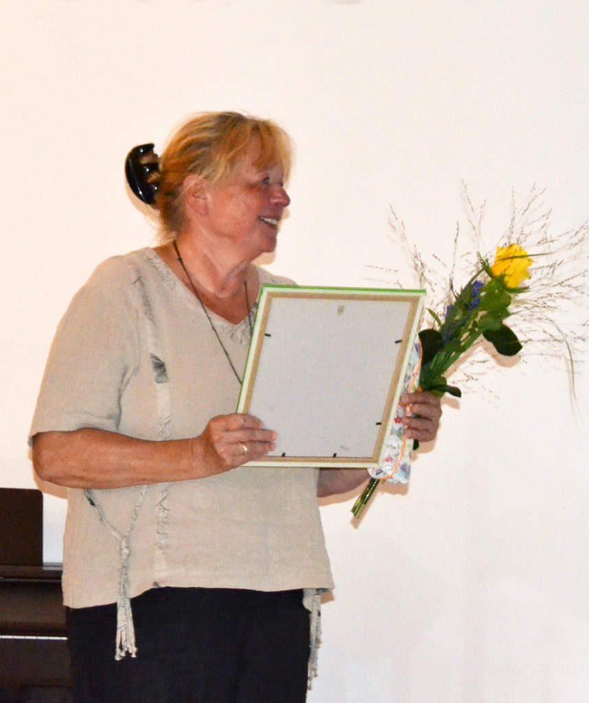 Verleihung des 2. Crossener Musiktherapiepreises an Ulrike Haase